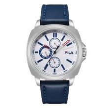 FILA/斐乐正品时尚商务皮带手表男手表手表石英表FLM38-789