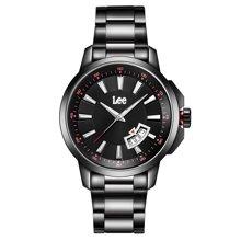 LEE男表 时尚夜光防水男士手表不锈钢指针式石英表LEF-M08