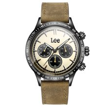 LEE男表 新款时尚多功能防水手表不锈钢石英表LES-M61
