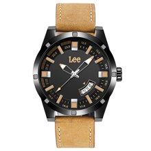 LEE男表 亮色镂空设计时尚防水夜光手表不锈钢石英表LES-M69