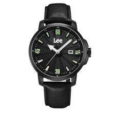 LEE男表 新款夜光防水不锈钢石英表男士手表LES-M29