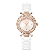 NATURALLY JOJO 新款镶钻陶瓷腕表迷你型JO99002-80RA