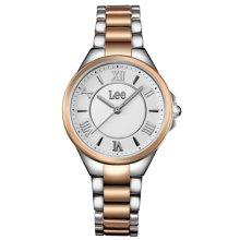 LEE女表 时尚潮流女式手表罗马刻度指针式防水石英表LEF-F23