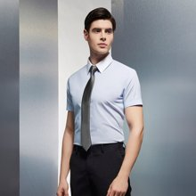 Evanhome/艾梵之家 纳米防水韩版窄领带男休闲百搭领带5cm银灰黑色条纹L5045