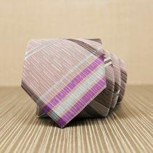 Evanhome/艾梵之家  春季新款男士商务休闲领带 时尚大气波普涂鸦领带男礼盒L7105