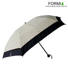 Formia芳美亚创意太阳伞防紫外线遮阳伞晴雨伞时尚淑女伞防晒 咖黑