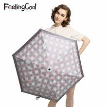 飞兰蔻洋伞 新款甜美超轻太阳伞防紫外线50遮阳伞防晒创意伞