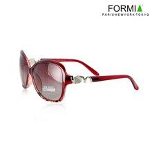 Formia芳美亚新款太阳镜优雅大气潮流时尚墨镜女款太阳镜 红色