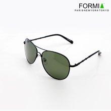 Formia芳美亚男士太阳镜潮人偏光镜蛤蟆镜墨镜驾驶镜商务户外太阳眼镜EC6930280  绿镜灰框