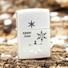 ZIPPO-4 雪花三朵