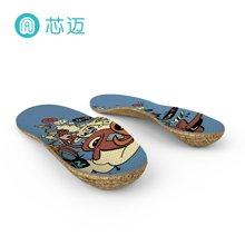 芯迈软木鞋垫运动减震男女鞋适用夏季吸汗鞋垫diy定制款精灵派对