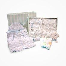 丑丑婴幼  新生儿礼盒用品套装宝宝6件套礼盒套装婴儿礼盒套装