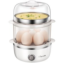 Bear/小熊煮蛋器ZDQ-A14B3 双层蒸蛋器不锈钢蒸碗自动断电