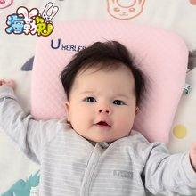 UHEALER海勒兔 新生儿定型记忆枕婴儿天鹅绒枕头婴幼儿宝宝专用