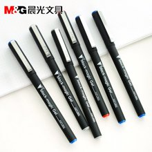 晨光文具AGP13902中性笔学生水笔0.5mm 办公中性笔黑骑士签字笔