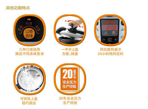 苏泊尔电压力锅(cysb60yc6a-110)【价格