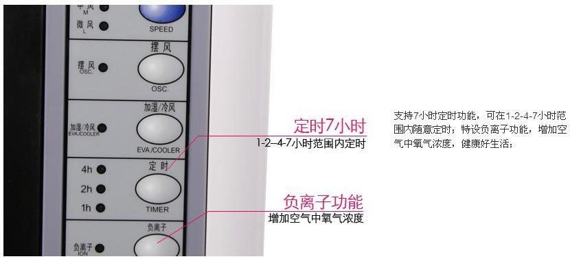 美的蒸发式冷风扇(ad120-d)