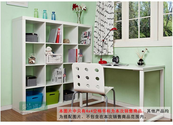 4*4书架储物柜 书房办公家具 隔断屏风玄关书橱 w-bc536