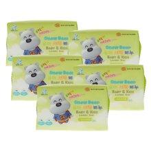 小白熊婴儿洗衣皂(洋槐香)*5组合装