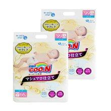 【2包装】日本GOO.N大王纸尿裤棉花糖系列(NB66片)