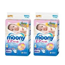 【2包装】日本Moony尤妮佳纸尿裤(NB90片)