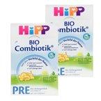 【2盒装】德国喜宝Hipp BIO益生菌奶粉pre 0-6个月适用 600g/罐