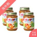 【4罐装】喜宝有机苹果杏子泥190g/罐