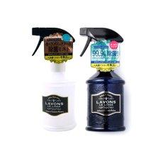 【2瓶装】LAVONS LE LINGE驱散异味除螨家居用香氛喷雾370ml/瓶+消臭除菌布制品家居用花香香氛喷雾(370ml)/瓶