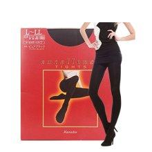 【2双装】日本嘉娜宝加厚瘦腿连裤袜美腿塑形压力袜发热厚110D袜子 L-LL