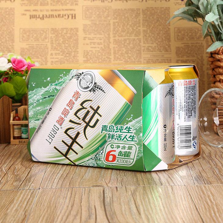 青岛啤酒纯生罐6罐装((330ml*6))