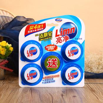 亮净洁厕宝马桶自动清洁剂(50g*5)