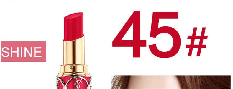法国ysl圣罗兰 迷魅圆管口红 #45号秀智色-45