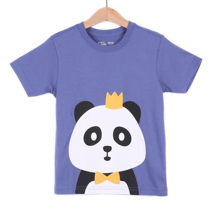 【班尼路 男童 动物头像圆领印花t恤 82601207】仅售39.9元!