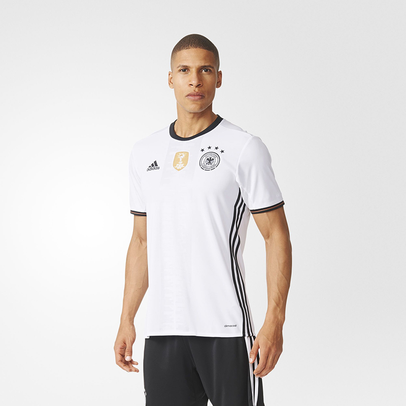 adidas阿迪达斯足球服2016新款欧洲杯德国主场比赛短袖球衣ai5014图片