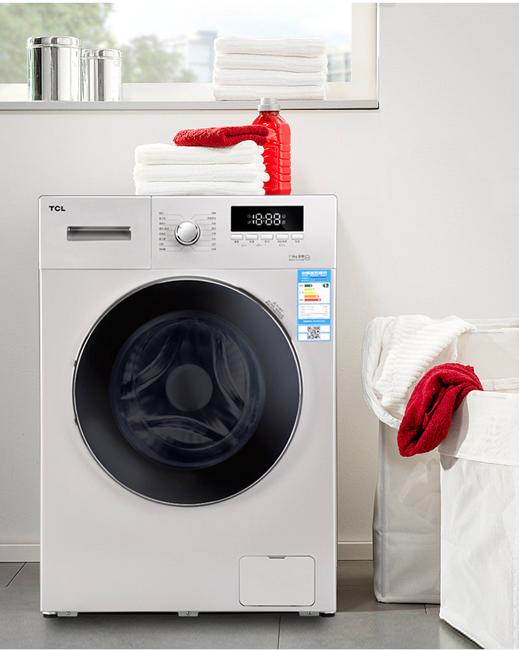 tcl滚筒洗衣机(xqg75-fc102hb(7.5公斤))