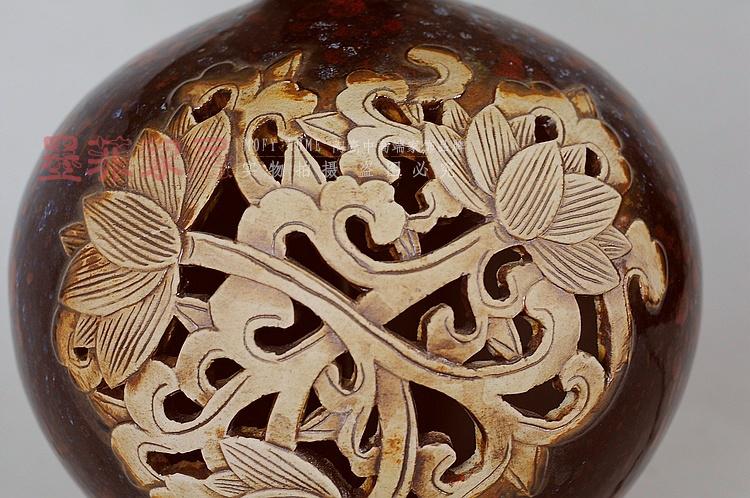墨菲 新中式浮雕陶瓷卧室床头创意时尚现代欧式书房客厅装饰台灯-其他