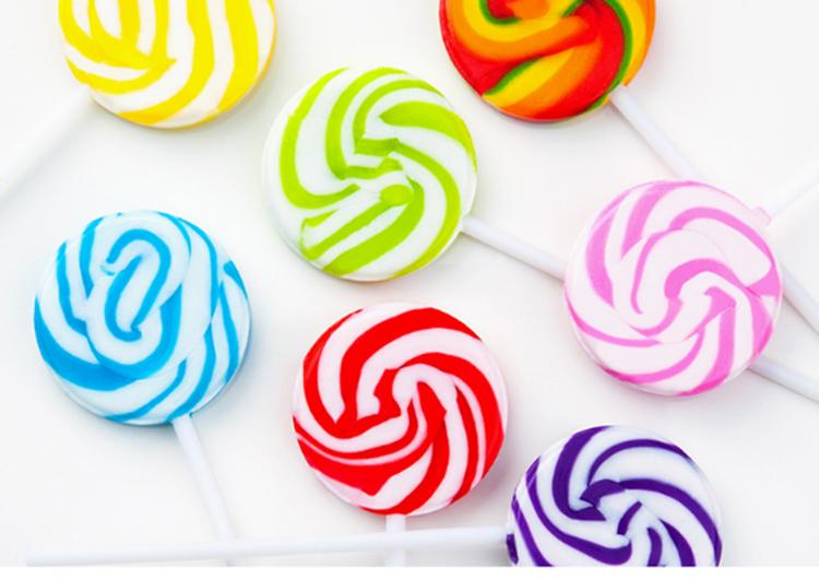 七彩儿童星空棒棒糖彩虹糖果礼盒装创意波板糖粘牙糖盒装送女友小孩