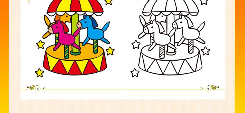 色3 4 5 6岁宝宝学画人物简笔画大全幼儿绘画 虹领巾