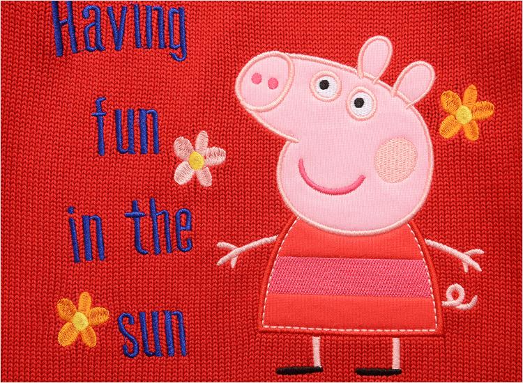 小猪佩奇毛衣图纸图片分享