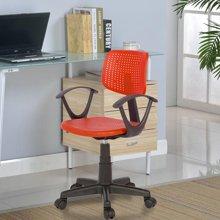 【塑料靠背椅】雅客集安格斯透气红色电脑椅PA-15019RE