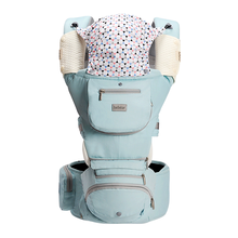 抱抱熊腰凳婴儿背带多功能四季通用 坐凳宝宝背带前抱式抱娃神器       αX03