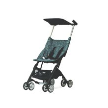 好孩子口袋车轻便婴儿推车可登机便携折叠伞车D666-H(豹纹咖)