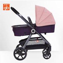 2017新品gb好孩子时尚亲子婴儿推车轻便舒适避震婴儿车GB105((粉色GB105-Q207PP))
