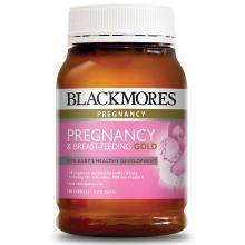 【澳洲】Blackmores澳佳宝 孕妇黄金素含叶酸DHA(180粒)*2瓶(180粒)