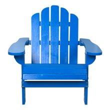 【木质青蛙椅】雅客集蓝色儿童休闲椅WN-13186