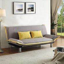 雅客集达莲娜休闲沙发床FB-15067 灰色/咖啡色可选布艺沙发