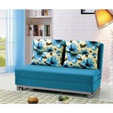 皇家爱慕客厅小户型折叠 沙发多功能储物 布艺沙发床 折叠沙发床铁架