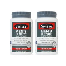 【香港直邮】大瓶更划算  澳洲Swisse男士复合维生素120粒*2瓶装