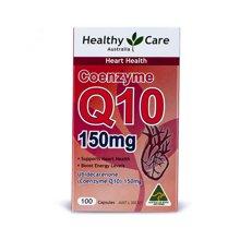 【保护心脏】澳洲Healthy Care Q10心脏辅酶150mg 100粒