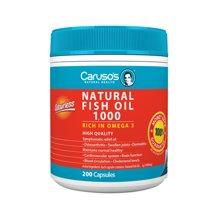 澳洲进口Carusos 浓缩深海鱼油欧米伽3 200粒 改善心血管